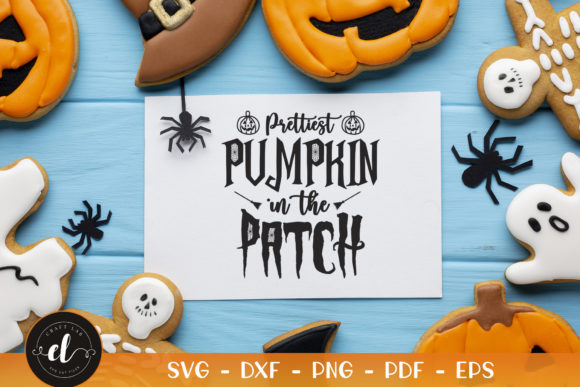 Prettiest Pumpkin in the Patch Graphic Crafts By CraftlabSVG