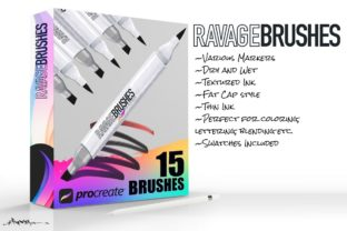 Ravage Procreate Brushes Graphic Brushes By Annex