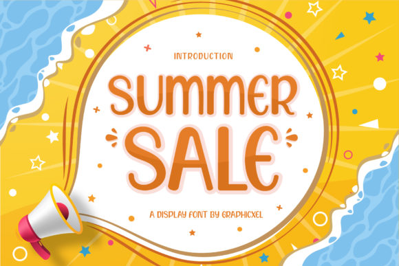 Print on Demand: Summer Sale Display Font By Graphicxell