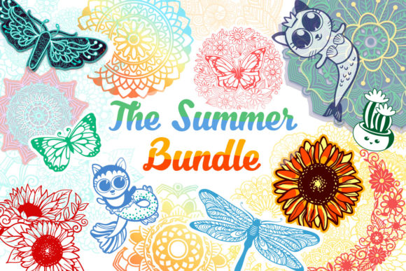 Print on Demand: The Summer Bundle  By tatiana.cociorva