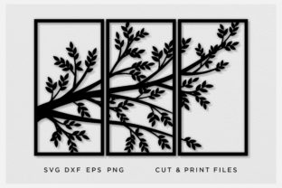 Tree, Room Divider, Panel Graphic Crafts By 2dooart