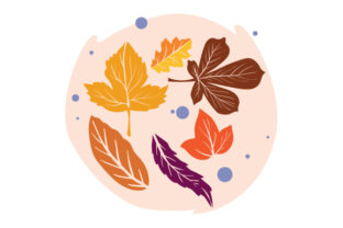 Autumn Leaves Fall Craft Cut File By Creative Fabrica Crafts