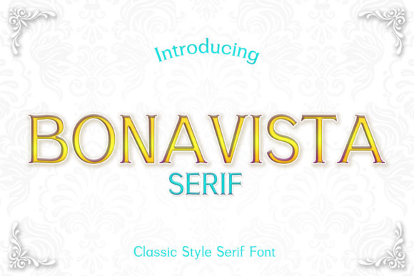 Print on Demand: Bonavista Serif Font By numnim