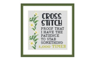 Print on Demand: Cross Stitch Funny Embroidery Pattern Graphic Cross Stitch Patterns By Tango Stitch