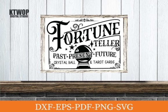 Fortune Teller Sign Graphic By Ktwop Creative Fabrica