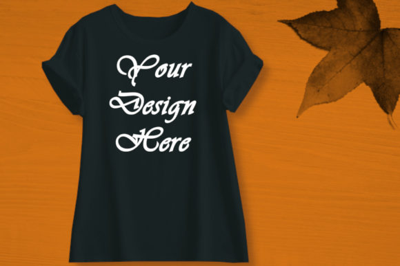 Mockups T-Shirts , Fall Graphic Product Mockups By MockupsByGaby