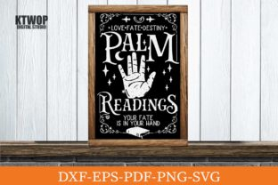 Print on Demand: Palm Reading, Fortune Teller Graphic Crafts By KtwoP