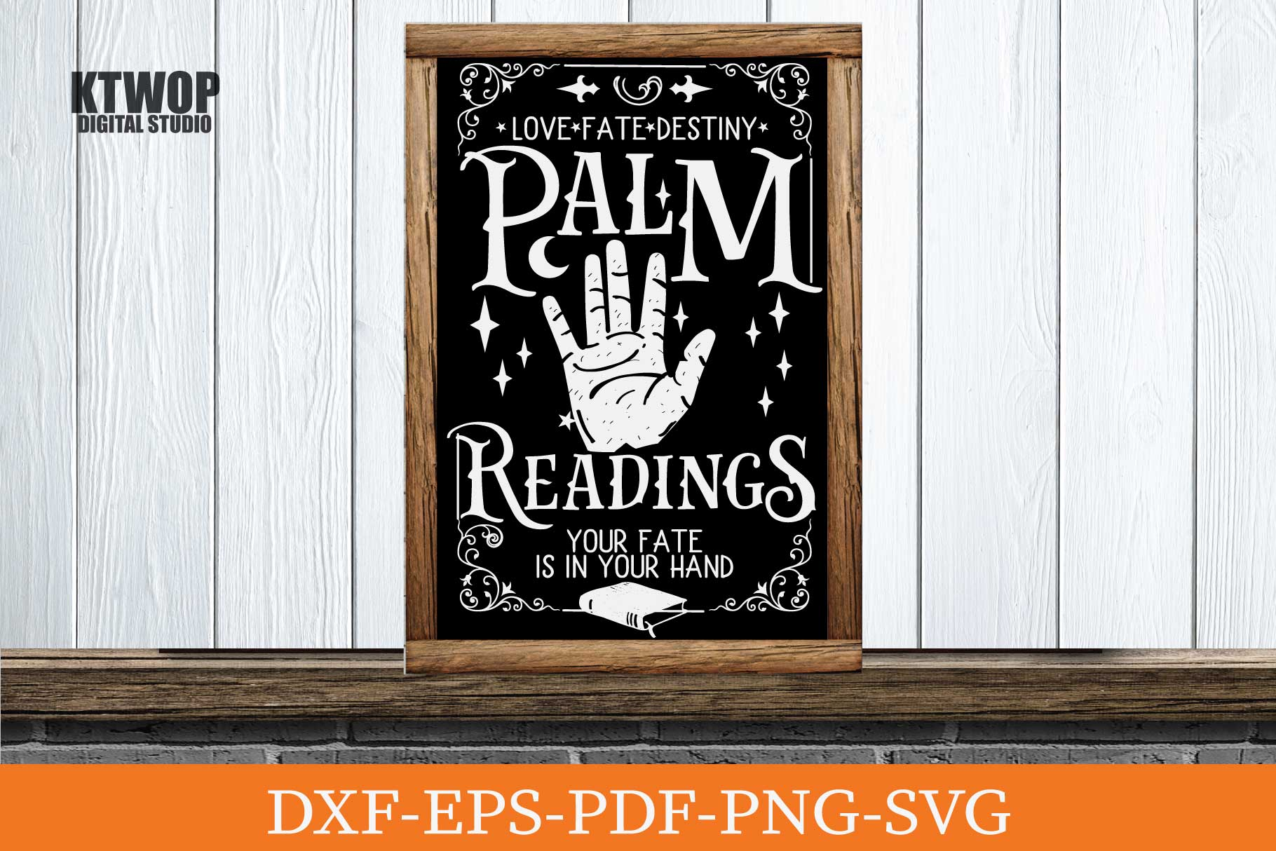 Palm Reading Fortune Teller Graphic By Ktwop Creative Fabrica
