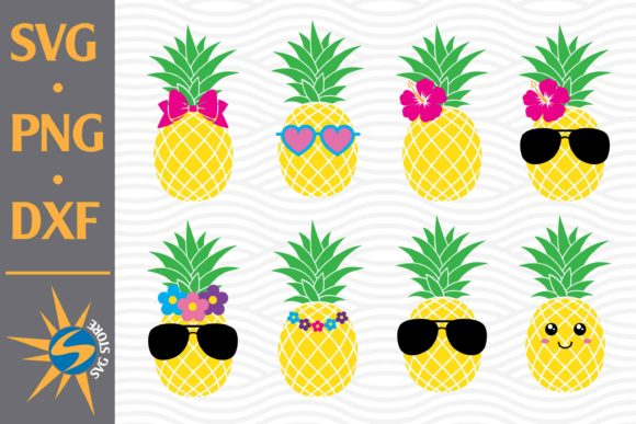 Print on Demand: Pineapple Graphic Crafts By SVGStoreShop