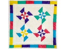 Summer Pinwheels Gráfico Quilt Patterns Por SleepingCatCreations