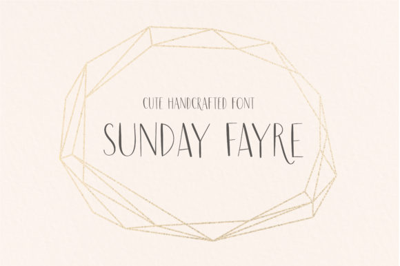 Print on Demand: Sunday Fayre Script & Handwritten Font By sunday nomad