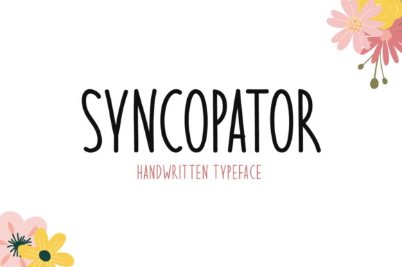 Print on Demand: Syncopator Script & Handwritten Font By Seemly Fonts