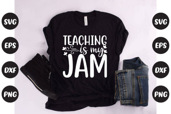 Print on Demand: Teaching is My Jam Graphic Crafts By Graphics Home.net