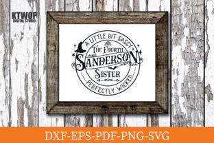 Print on Demand: The Fourth Sanderson Sister Graphic Crafts By KtwoP