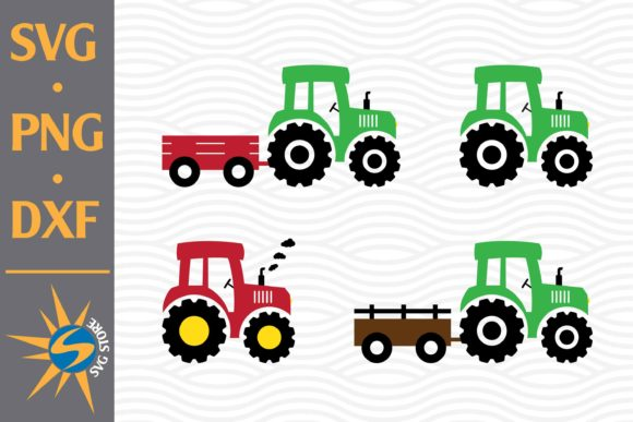 Download Tractor SVG Cut Files