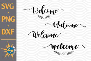 Print on Demand: Welcome Graphic Crafts By SVGStoreShop