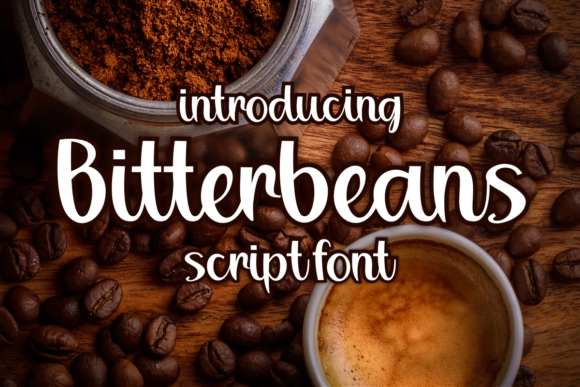Print on Demand: Bitterbeans Script & Handwritten Font By deedeetype