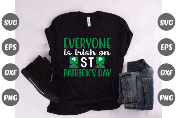 Print on Demand: Everyone is Irish on St. Patrick's Day Graphic Illustrations By Design Store Bd.Net