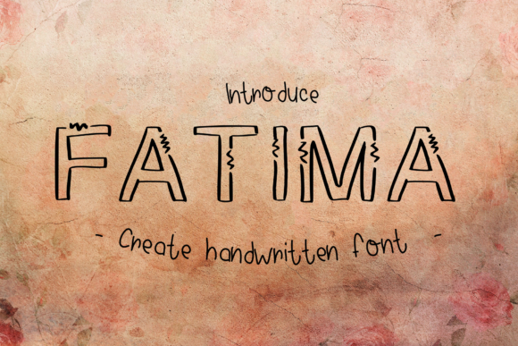 Print on Demand: Fatima Script & Handwritten Font By ChunnapaStudio