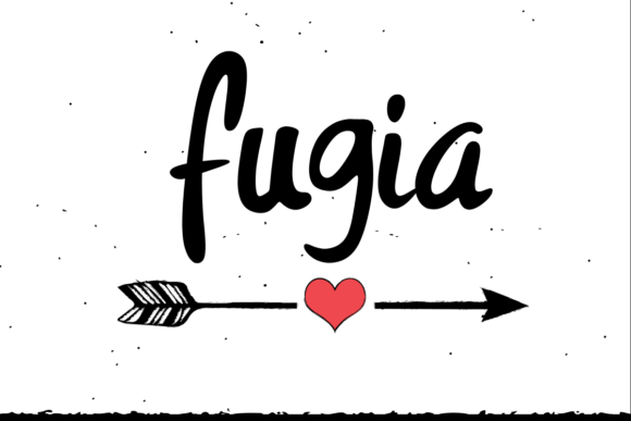 Print on Demand: Fugia Script & Handwritten Font By estede75