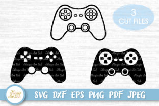 Game Controllers Cut Files Graphic Crafts By MagicArtLab