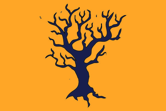 Print on Demand: Halloween Weed Tree Graphic Icons By thomasrayle