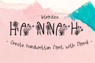 Print on Demand: Hannah Decorative Font By CSDesign