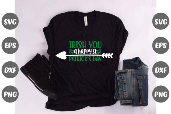 Print on Demand: Irish You a Happy St. Patrick's Day Graphic Graphic Templates By Design Store Bd.Net