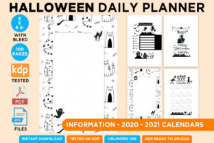 Print on Demand: KDP Interior Halloween Dotted Pages Vol6 Graphic KDP Interiors By Queen Dreams Store