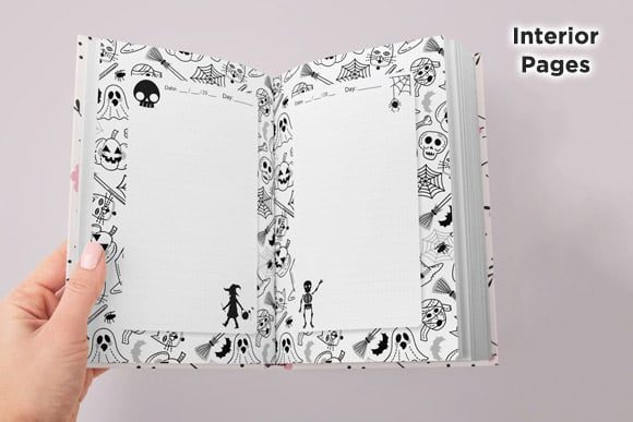 KDP Interior Halloween Dotted Pages Vol8 Graphic Download