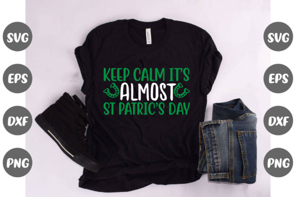 Print on Demand: Keep Calm It's Almost St. Patrick's Day Graphic Illustrations By Design Store Bd.Net
