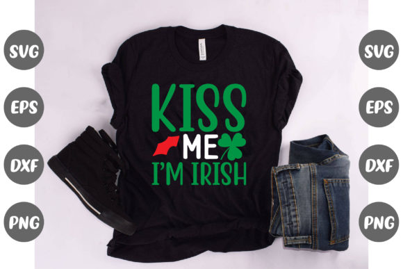 Print on Demand: Kiss Me I'm Irish Graphic Crafts By Design Store Bd.Net