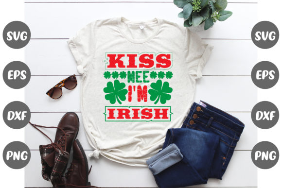 Print on Demand: Kiss Mee I'm Irish Graphic Illustrations By Design Store Bd.Net