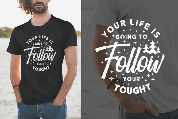 Print on Demand: Life Quotes Typography Lettering Graphic Objects By Universtock
