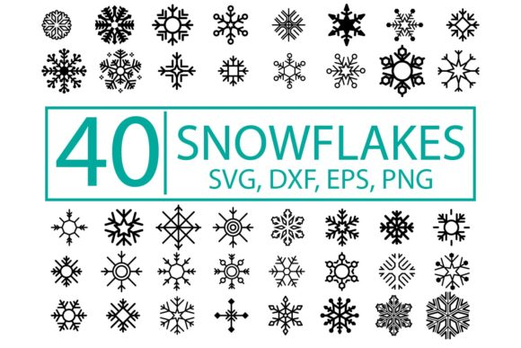 Snowflakes Christmas Bundle Graphic By Sintegra Creative Fabrica