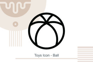 Toys Icon - Ball Graphic Icons By MelindAgency