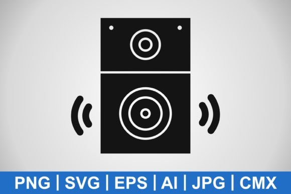 Print on Demand: Vector Speaker Icon Graphic Icons By IYIKON