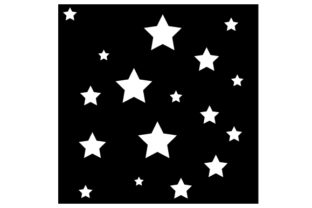 Stars Stencil Designs & Drawings Craft Cut File By Creative Fabrica Crafts