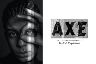 Print on Demand: Axe Display Font By Design Stag