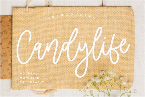 Print on Demand: Candylife Script & Handwritten Font By Balpirick