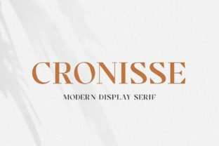 Print on Demand: Cronisse Serif Font By almarkhatype