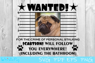 Print on Demand: Dog Cat Pet Wanted Poster Graphic Crafts By Whistlepig Designs