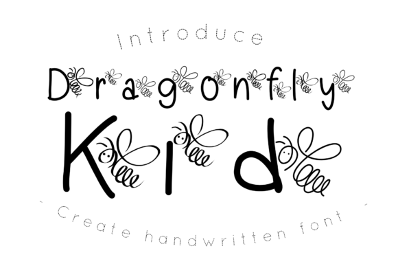 Print on Demand: Dragonfly Kid Decorative Font By CSDesign