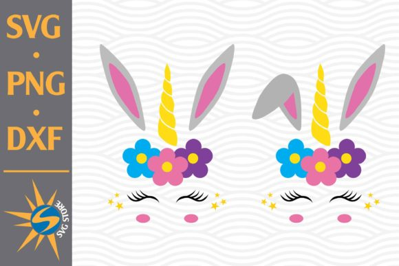 Easter Unicorn Graphic Crafts By SVGStoreShop