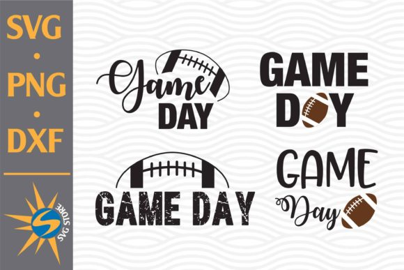 Game Day Football Graphic Crafts By SVGStoreShop