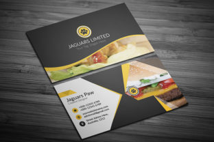 Restaurant Food Business Card Design Graphic Print Templates By CraftFog