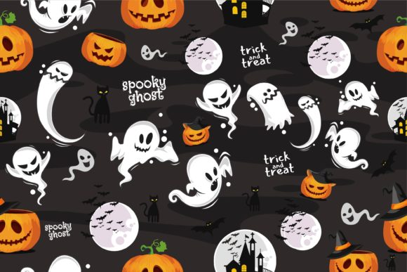 Scary Halloween Vector Pattern Graphic Patterns By onoborgol