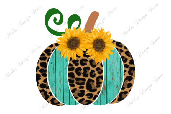 Sublimation - Leopard Halloween Pumpkin Graphic Illustrations By MidasStudio