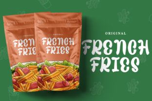 Print on Demand: Sweet Fig Display Font By Din Studio 4