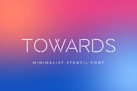 Print on Demand: Towards Display Font By almarkhatype